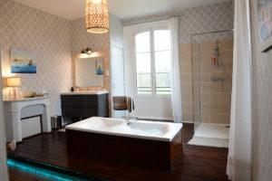 La salle de bain de la chambre Gabrielle